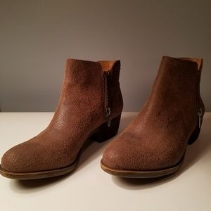 Lucky Brand Basel Bootie 6.5 Brown
