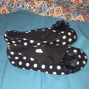 Other - Toddler Girl polka dot flats