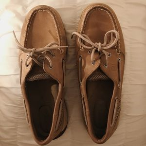 Sperry Tan Boat Shoes