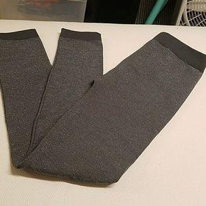 Xhilaration Leggings Grey with Silver
