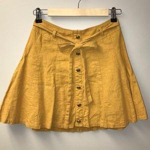 Mini Skirt | Mustard
