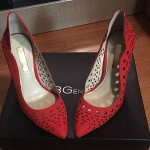 Bcbg candy red heels