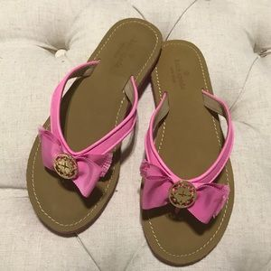 NWT Kate Spade Pink Flip Flops