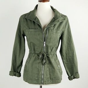 Old Navy Army Green Military Jacket
