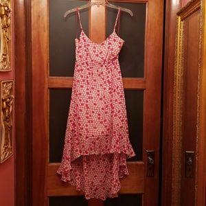 Betsey Johnson Dress M high low adjustable straps