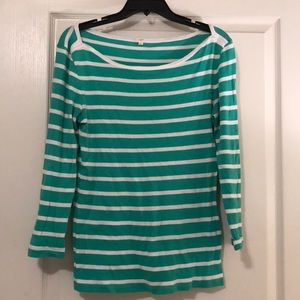Jcrew stripped top