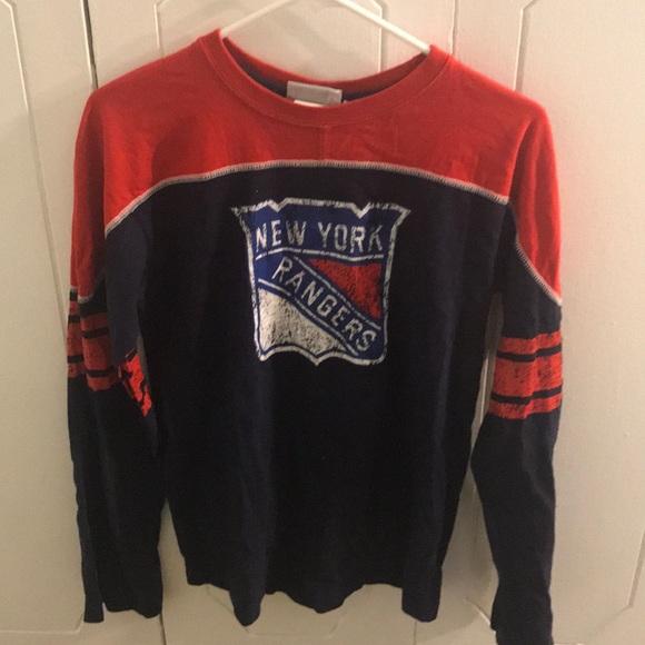 Reebok Boys Orange Gray Long Sleeve Shirt Fall Winter Size L 14//16