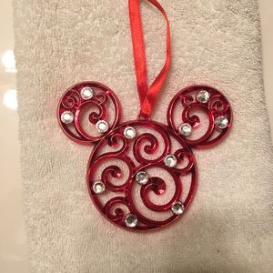 Mickey Mouse ornament.