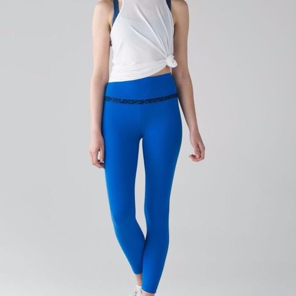 Lululemon Athletica Pants Lululemon Align Sz4 Lakeside Blue 78