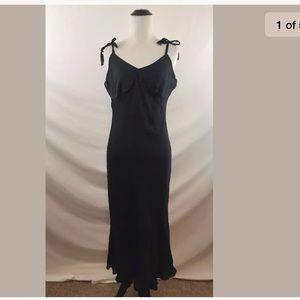 Lauren Ralph Lauren Halter 100%  Silk Dress