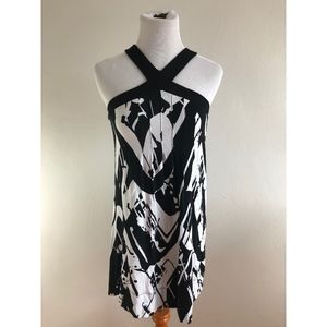 Express Black and White Dress {LA}