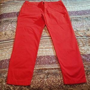 Gap Red Khakis