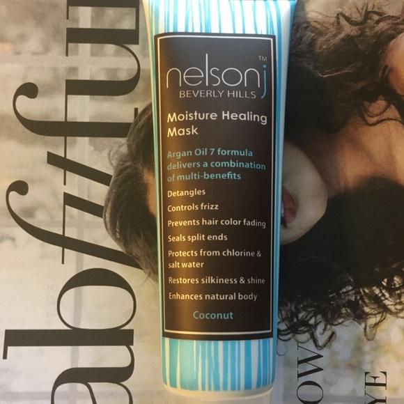 Nelson j Moisture Healing Hair Mask Coconut Scent