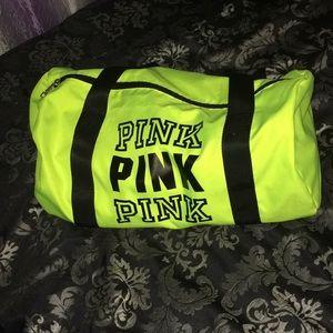 Neon Pink Dufflebag