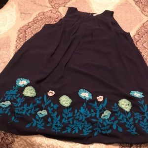 Floral embroidered dress from Loft