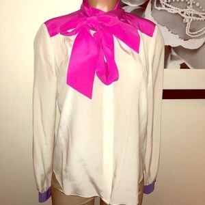 Awesome silk button down