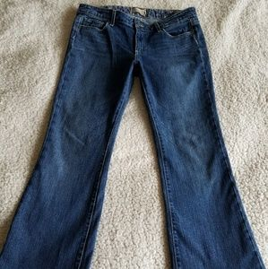 Paige Jeans Size 31 Bootcut Dark Wash