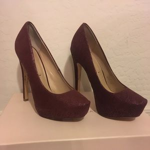BCBG Dixie Platform Pumps