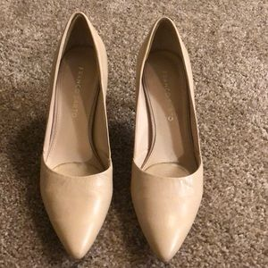 Nude Franco Sarto heels in great condition!