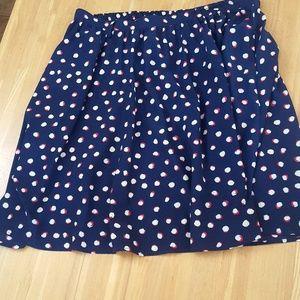 Festive Polka Dot Skirt from Target