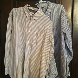 $$ Bundle of 2 Striped Casual Old Navy Shirts $$