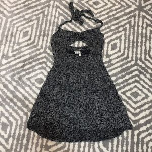 Kirra Halter Dress with Cut Outs