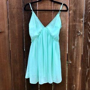 Nasty Gal Mint Dress