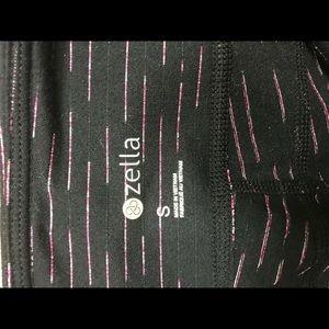 Zella Pants - Zella brand pink striped leggings