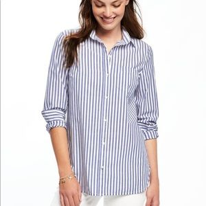 Relaxed pocket tunic