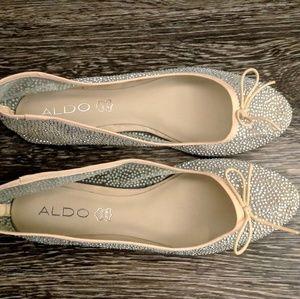 Stunning Shimmering Sheer Ballet Slippers
