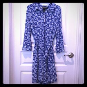 Donna Morgan shirt dress size 14