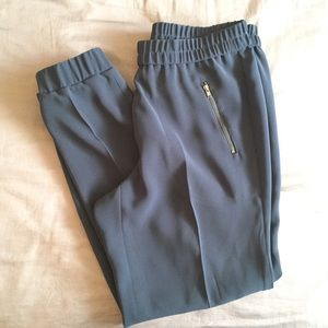 J. Crew trousers, dark grey w/ fitted ankle