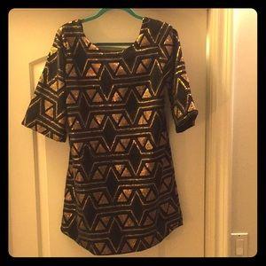 Billabong designers closet party sequin dress