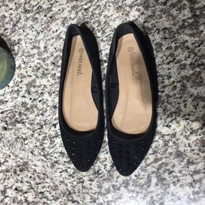 Wet Seal black flats