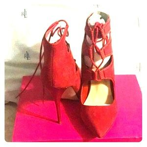 Shoedazzle red shoes