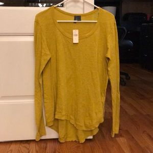 Anthropologie size small. Scoop neck long sleeve