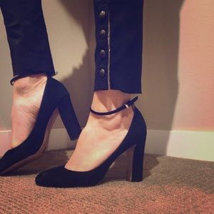 Banana Republic Chic Ankle strap pumps