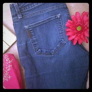 Paige Peg Straight Jeans