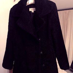 Calvin Klein Retro Dressy Women's Coat
