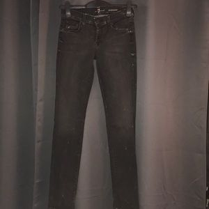 """7 for All Mankind """"Roxanne"""" skinny jean size 26"""