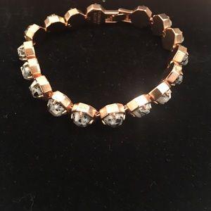 Kendra Scott Lace bracelet Gray Granite
