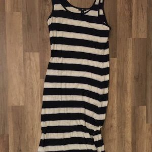 Striped long cotton maxi!