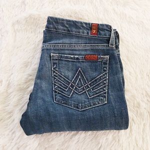 7 for all mankind A Pocket Women's Jeans👖 Size 27