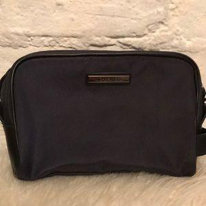 Michael Kors navy and black travel bag