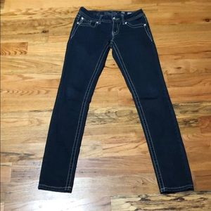 Miss Me skinny 27 jeans EUC!