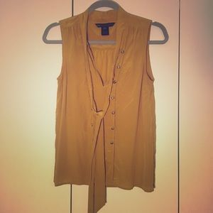 Marc by Marc Jacobs Mustard Silk Top