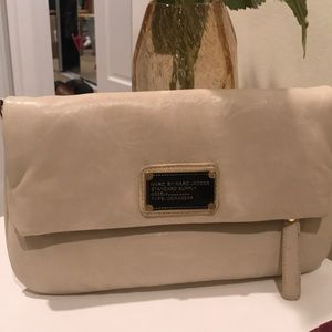 Marc Jacobs Cream Clutch