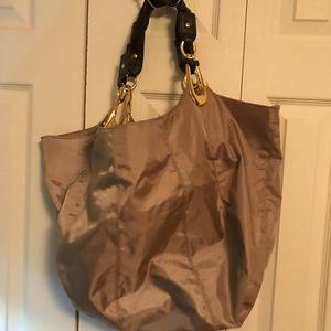 Metallic Over the Shoulder Bag