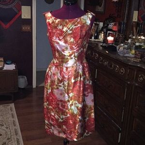 Vintage 1950's/1960's Holiday party dress