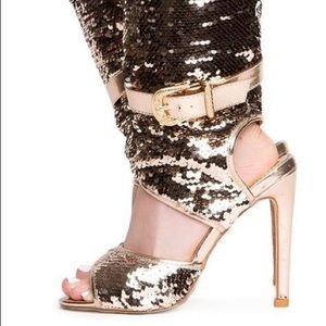 Shoes - Sequin Bootie